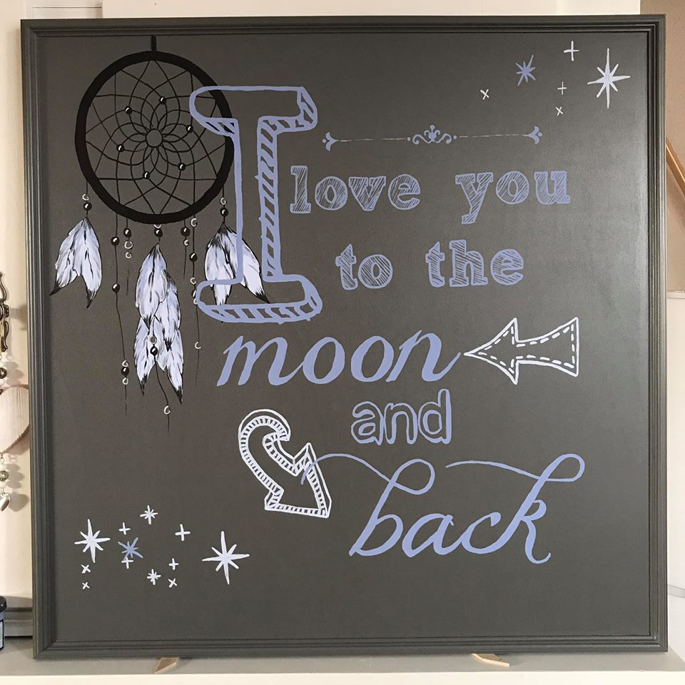 love you 2 the moon and back4